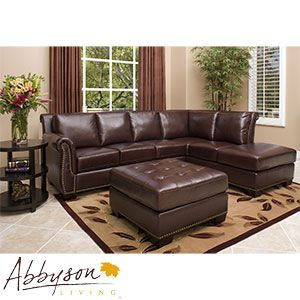 Encore Top Grain Leather Sectional And Ottoman Italian Leather Sectional Sofa Top Grain Leather Sectional Leather Sectional