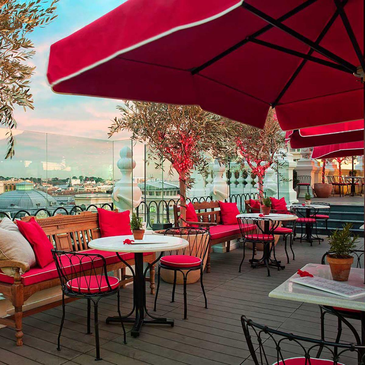Decoracion Elegante Para Terrazas Profesionales The Principal Hotel Madrid Terrazas Madrid Hoteles Terrazas
