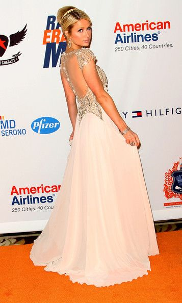 Paris Hilton in Tony Ward Couture