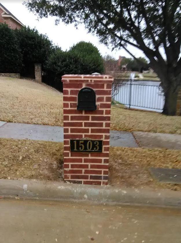 Pin By Cobblestone Masonry On Masonry Brick Repair Masonry Custom Mailboxes