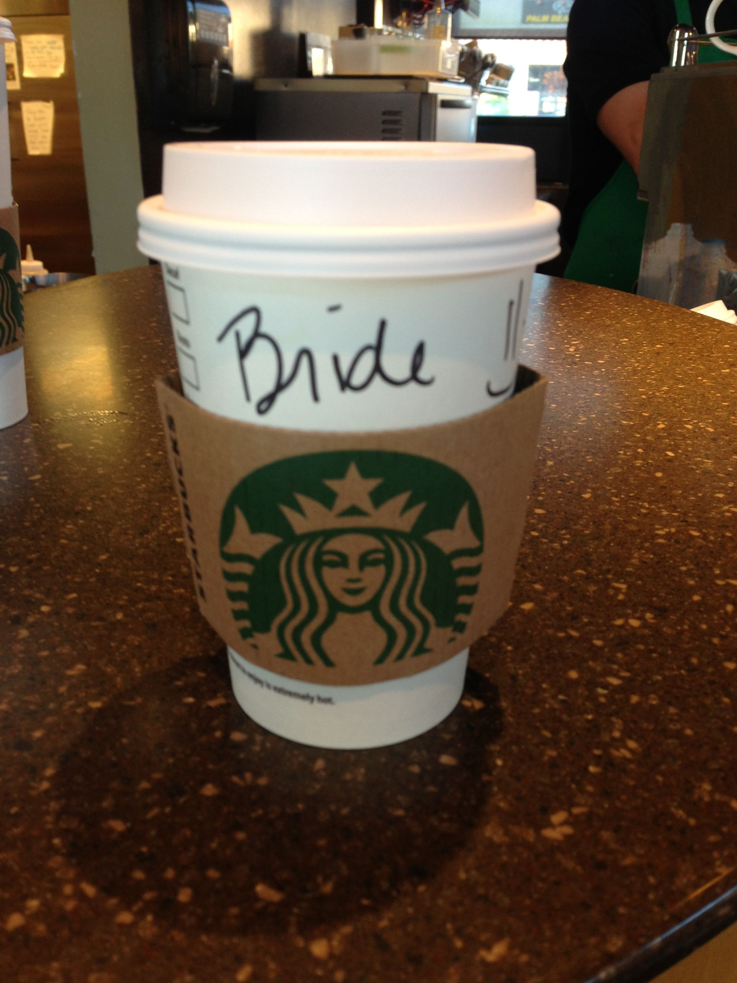 How To Get Free Starbucks On Your Wedding Day
