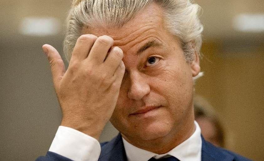 Wilders, el diputado holandés acusado de incitar al odio, no irá a su juicio