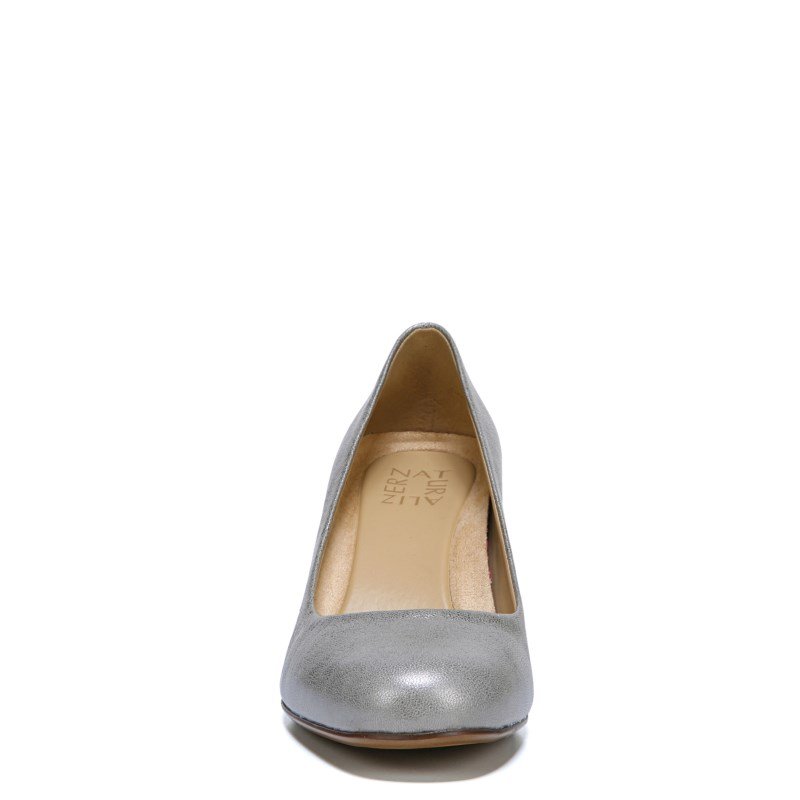 dacb3a5bc1 Naturalizer Women s Whitney Narrow Medium Wide Pump Shoes (Silver ...