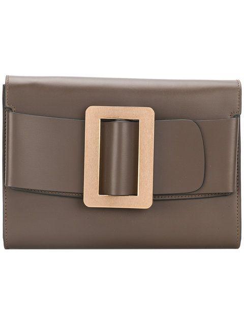 BOYY buckled clutch.  boyy  bags  leather  clutch  hand bags ... cf4b0b37bf