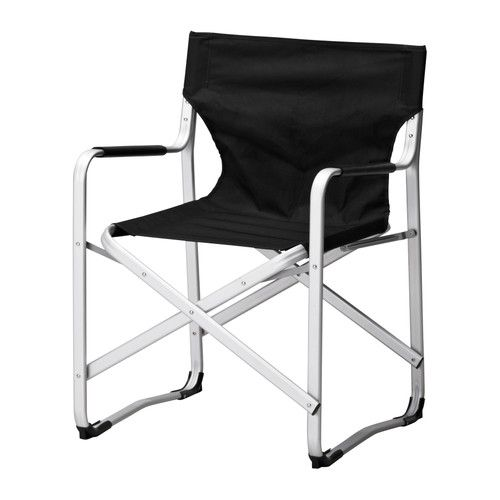 KalvÖ Directoru0027s Armchair Ikea Rustproof Aluminum Frame Is Both Sy And Lightweight Folds To Save