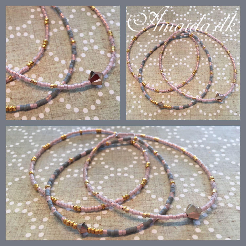 d8759b5be23 Armbånd af Miyuki delica perler   Smykker   Hjemmelavede smykker ...