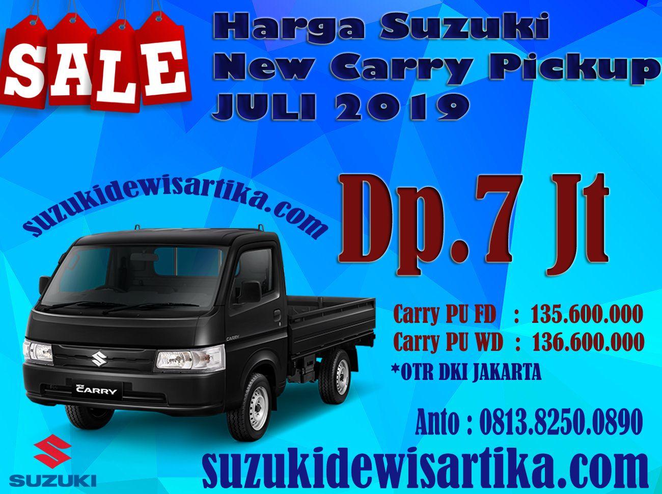 Harga Suzuki Carry Pickup Bulan Juli 2019 Hubungan