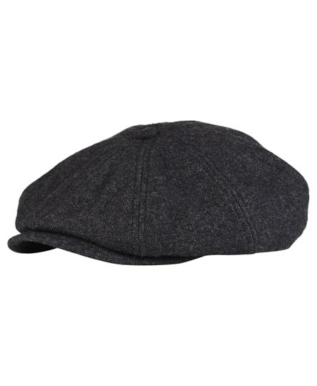 superdry Superdry Blinder cap. A traditional flat cap with a reinforced  peak in a twill woven fabric. The Blinder cap is fully lined and is  finished with ... a794e24b00c