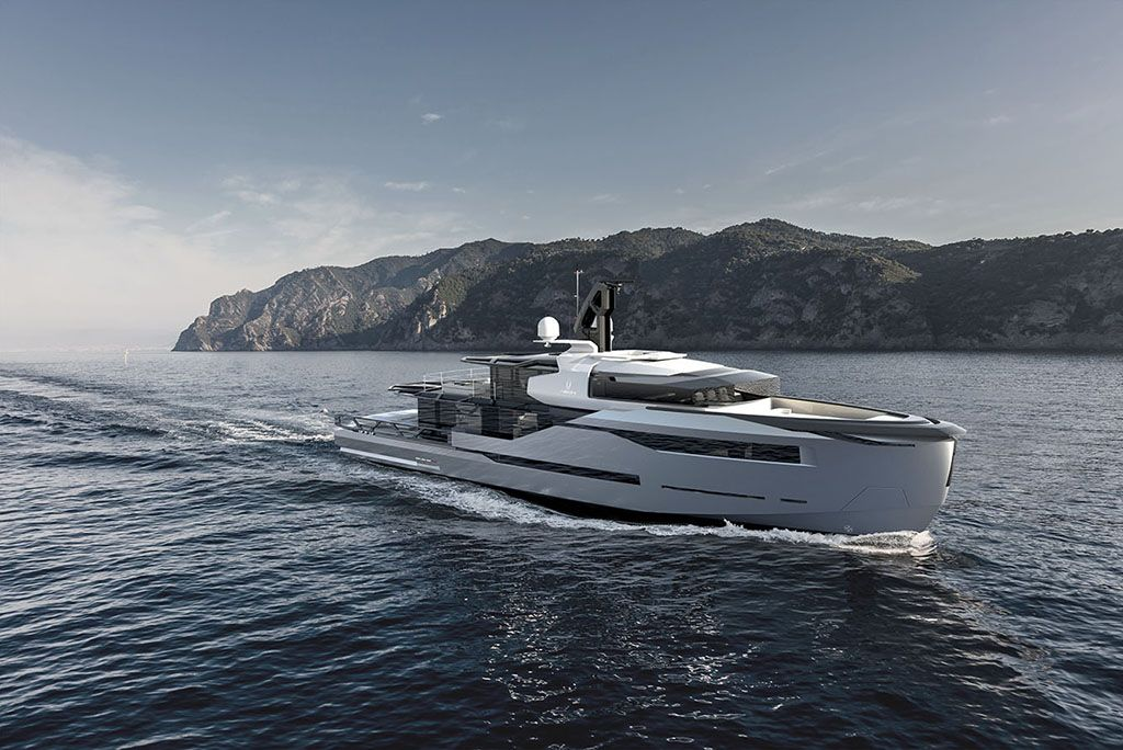 Sea Arrow – Megayacht Concept Design by Verme Projects from Verme ...