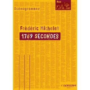 Editions l'Entretemps 1789 secondes