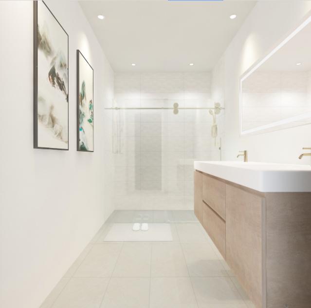 Bright Modern Bathroom Design In 2020 Bathroom Design Bathrooms Online Small Bathroom Renovations