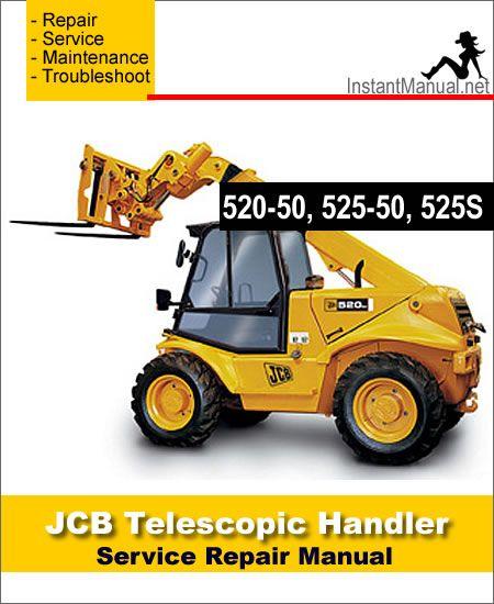 Download JCB 520-50 525-50 525S Telescopic Handler Service