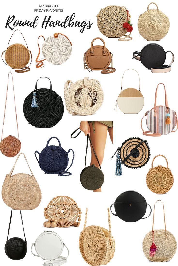 Friday Favorites: Round Handbags –