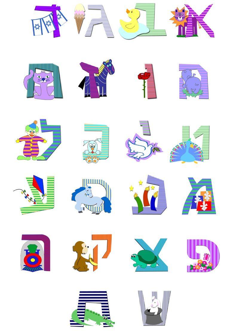 Predownload: Hebrew Alphabet For Kids Learn Hebrew Hebrew Lessons Alphabet For Kids [ 1108 x 800 Pixel ]