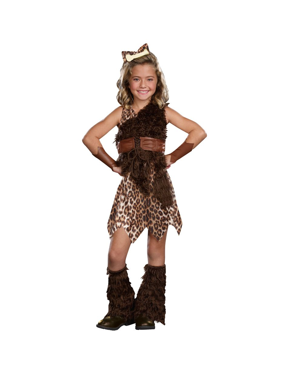 Cave Cutie Child Costume  Spirit Halloween  Man Cave -9515