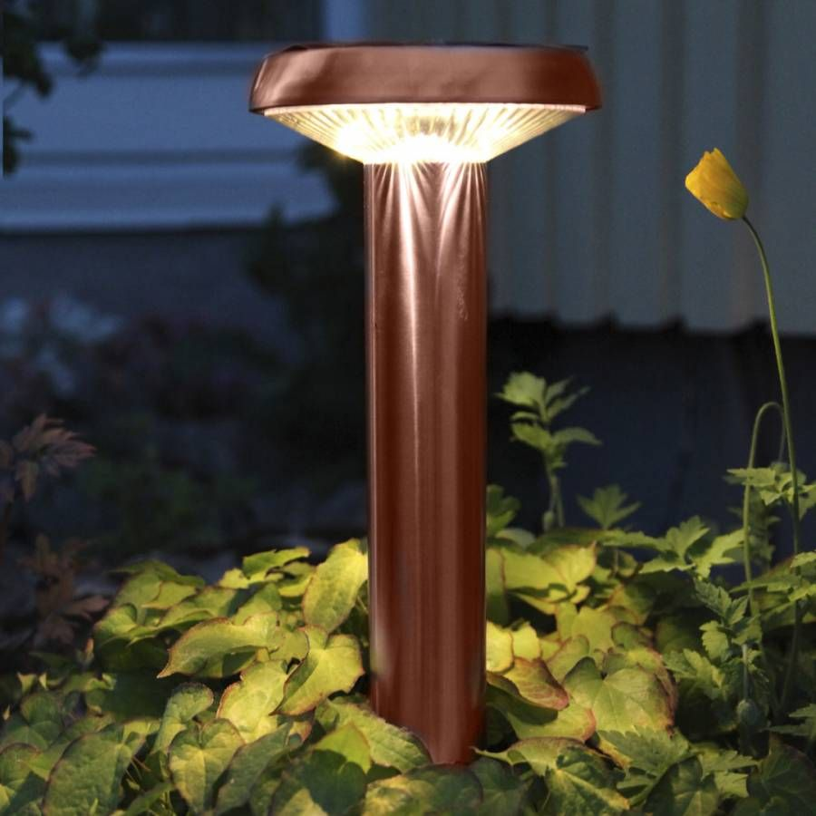 Solar Editions Sevilla In Copper Solar Path Light Solar Path Lights Solar Lamp Path Lights