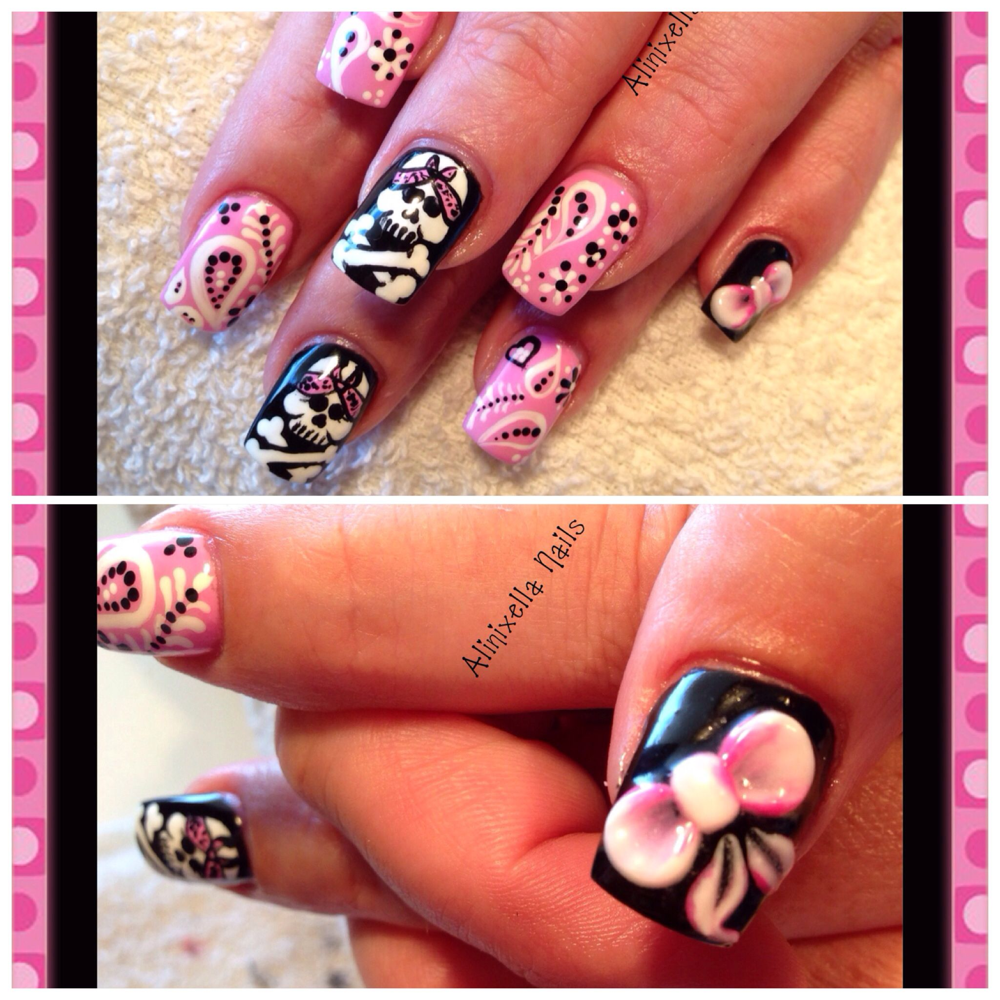 Pink Gangsta | Nails | Pinterest