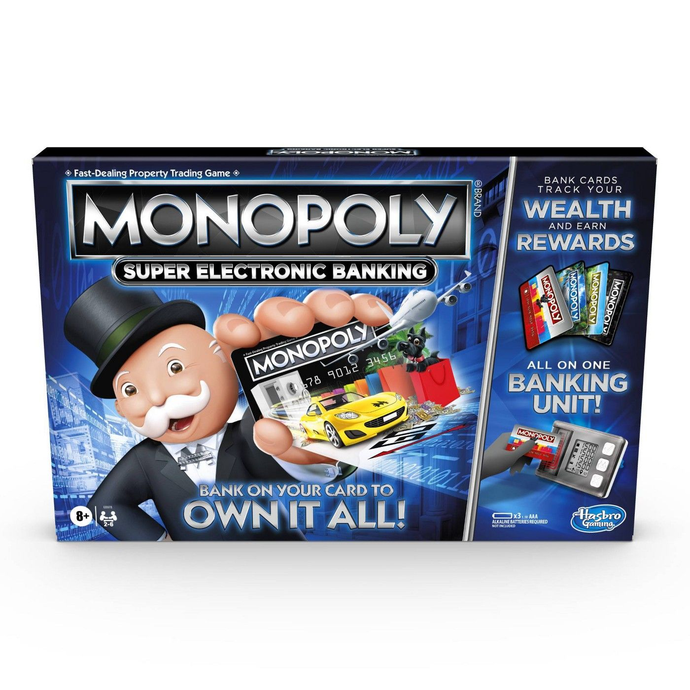 Monopoly Super Electronic Banking Game In 2021 Electronic Banking Board Games For Kids Games For Kids