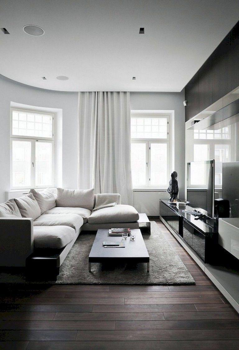 14 Dark Color Scheme For Scandinavian Living Rooms Ideas In 2020 Minimal Living Room Dark Floor Living Room Living Room Decor Apartment