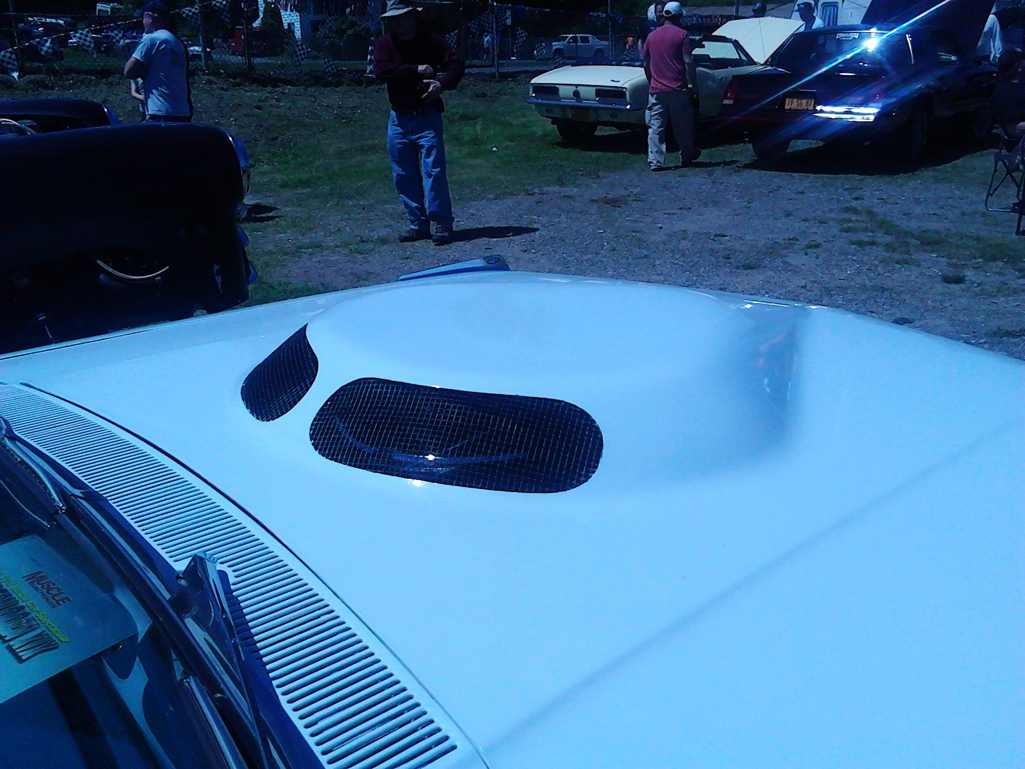 Ford Thunderbolt,T-bolt tear drop hood scoop