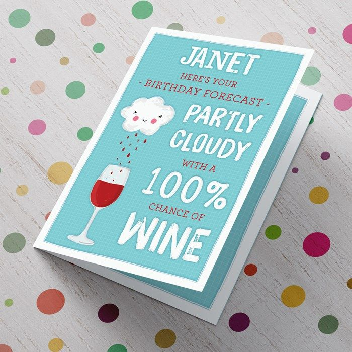 Personalised birthday card 100 chance of wine gettingpersonal personalised birthday card 100 chance of wine gettingpersonal personalised birthday cardscard factorycard bookmarktalkfo Choice Image