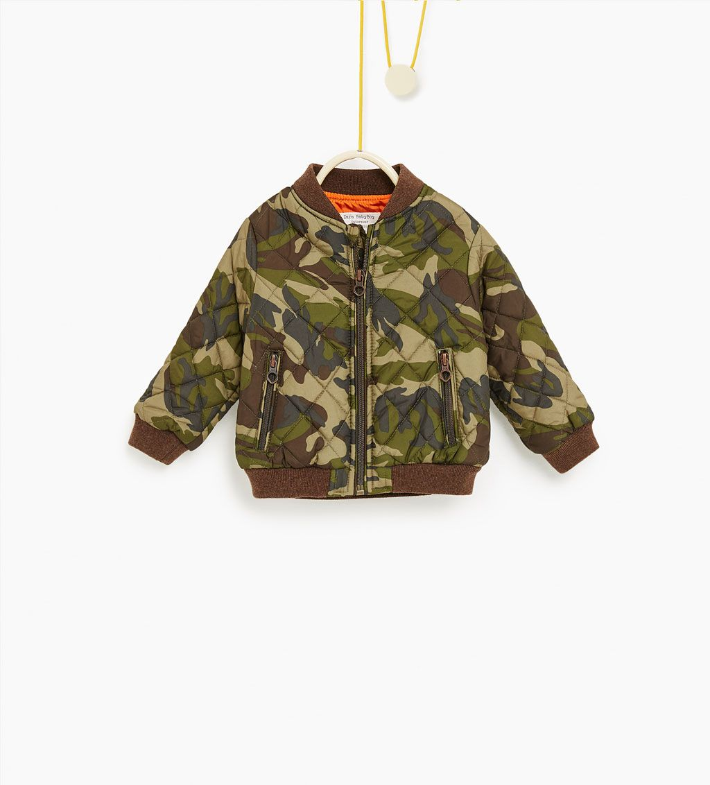 78e82e3ce8a5a Camouflage bomber jacket-COATS-Baby boy-Baby
