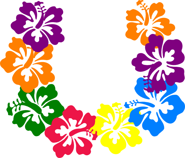 Leis Luau Party Clip Art