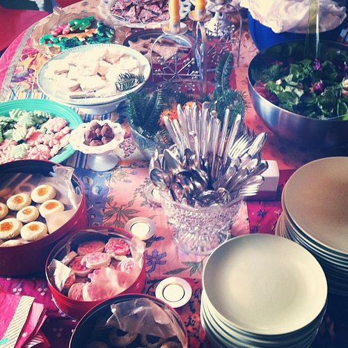 Boxing Day table