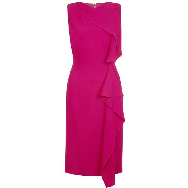 Hobbs Betsy Dress, Magenta Pink (€165) ❤ liked on Polyvore ...