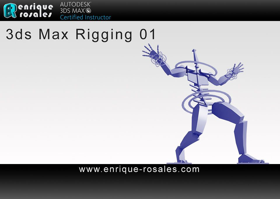 3DS MAX Full Body Rigging Tutorial 1/6 (spanish)