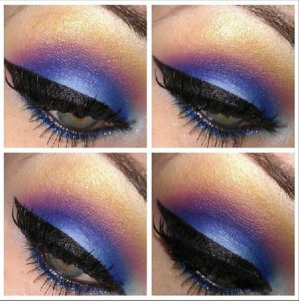 SugarPill and Inglot eyeshadows