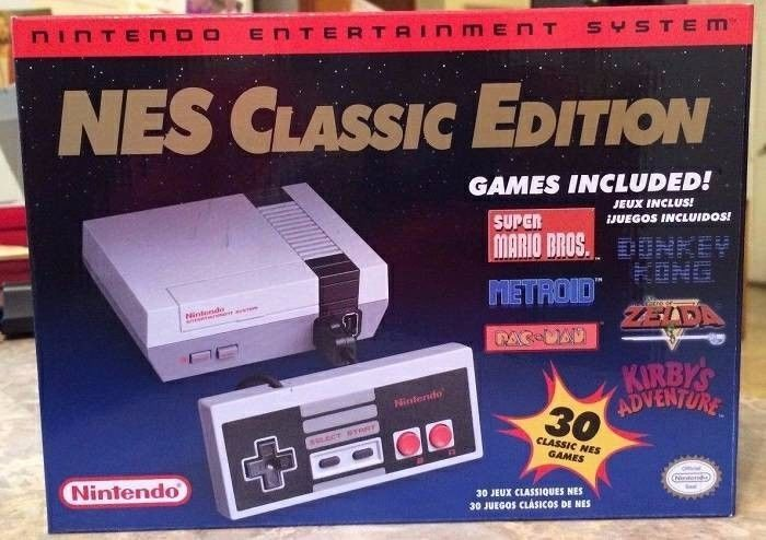 Modded Nes Classic Edition Over 650 Games Nintendo