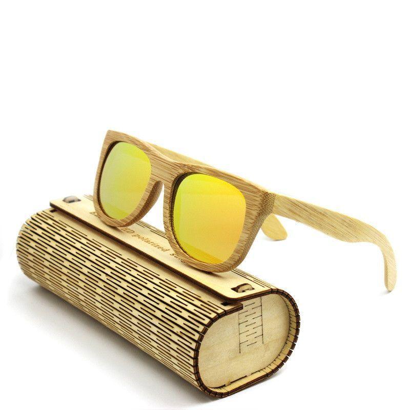 Bamboo Wooden Sunglasses