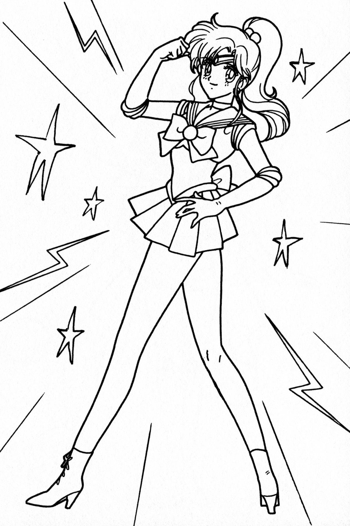 sailor moon coloring page - Google Search | coloring | Pinterest ...