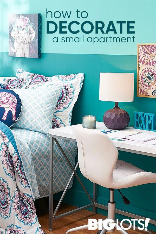 Decorating a small living space can be exciting! But tends to come with some challenges. Since space is at such a premium, small apartment decorating ideas need to be strategic and purposeful. #apartmentdecorating #dreamroomsforwomen