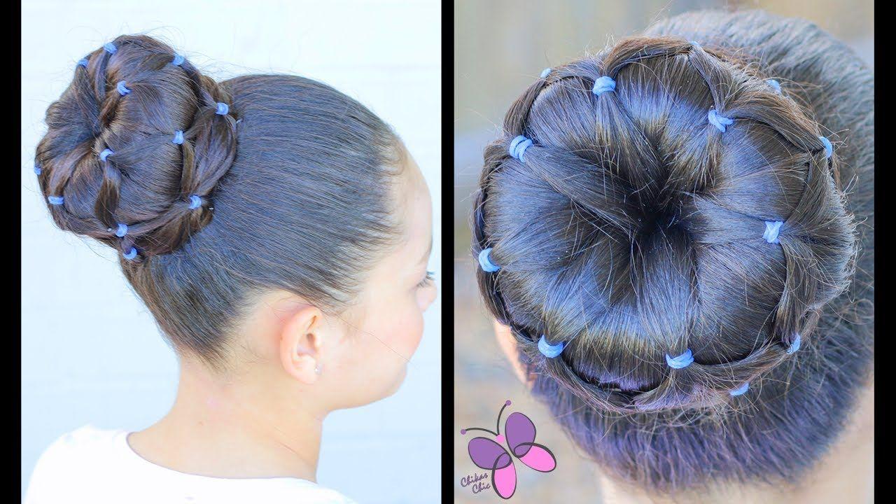 Dona con Ligas   Peinados para Niñas   Peinados para el Colegio   Chikas...