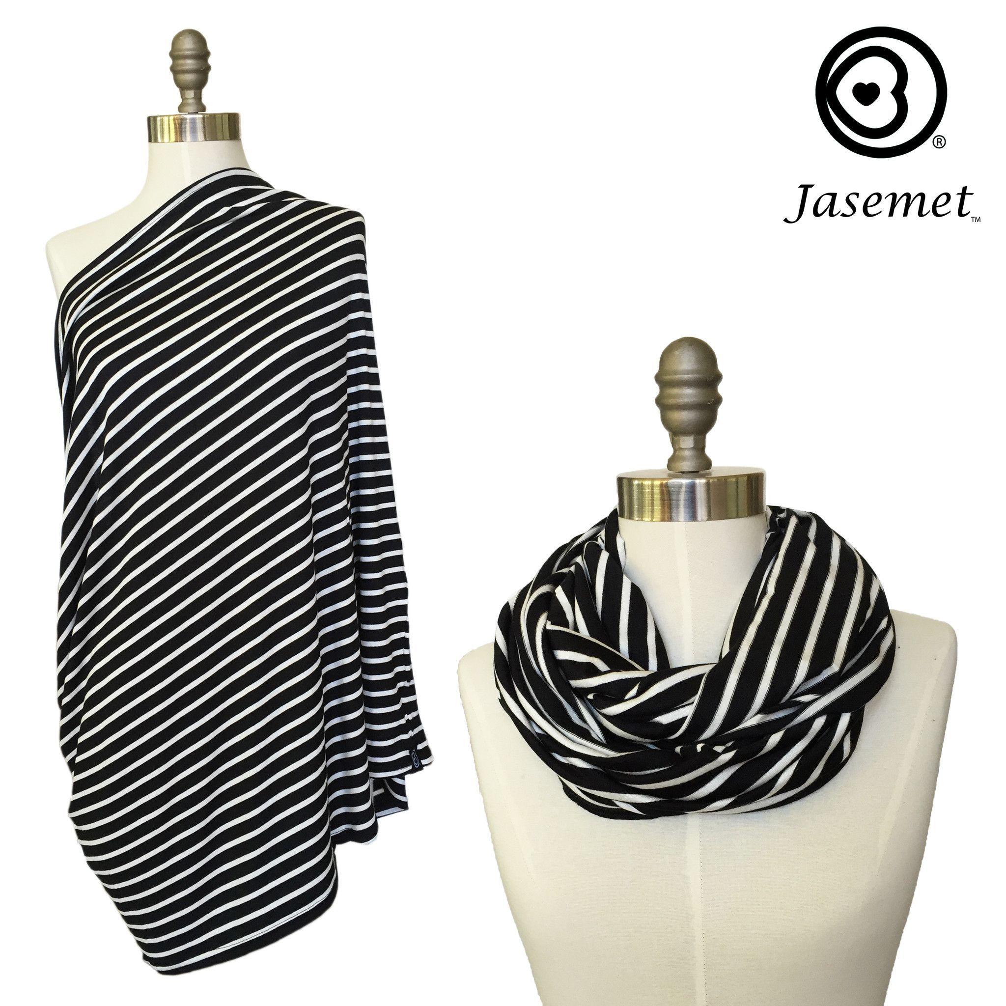 Nursing Scarf - Classic Stripes