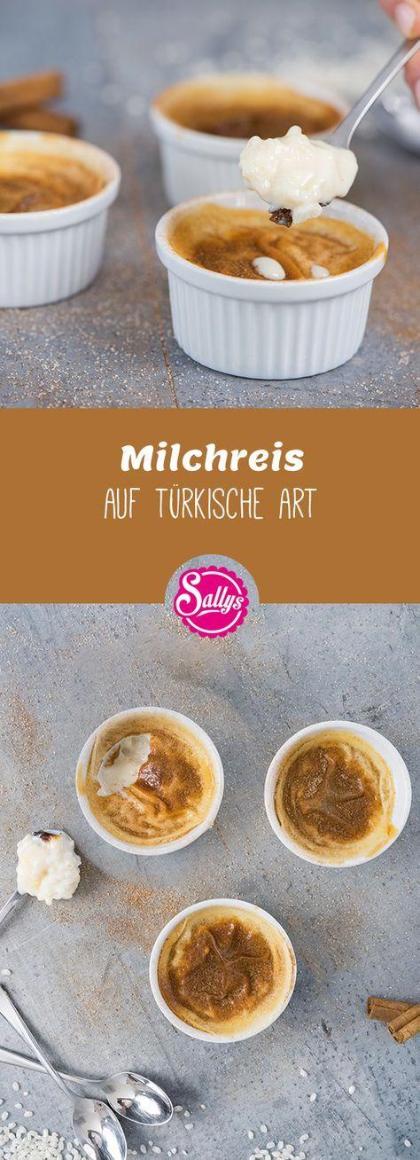 Milchreis auf türkische Art
