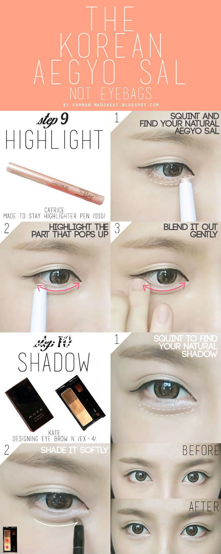 How To Korean Ulzzang Uljjang Make Up Ft Aegyo Sal Madokeki Makeup Reviews Tutorials And Beauty H Korean Makeup Tips Ulzzang Makeup Korean Eye Makeup