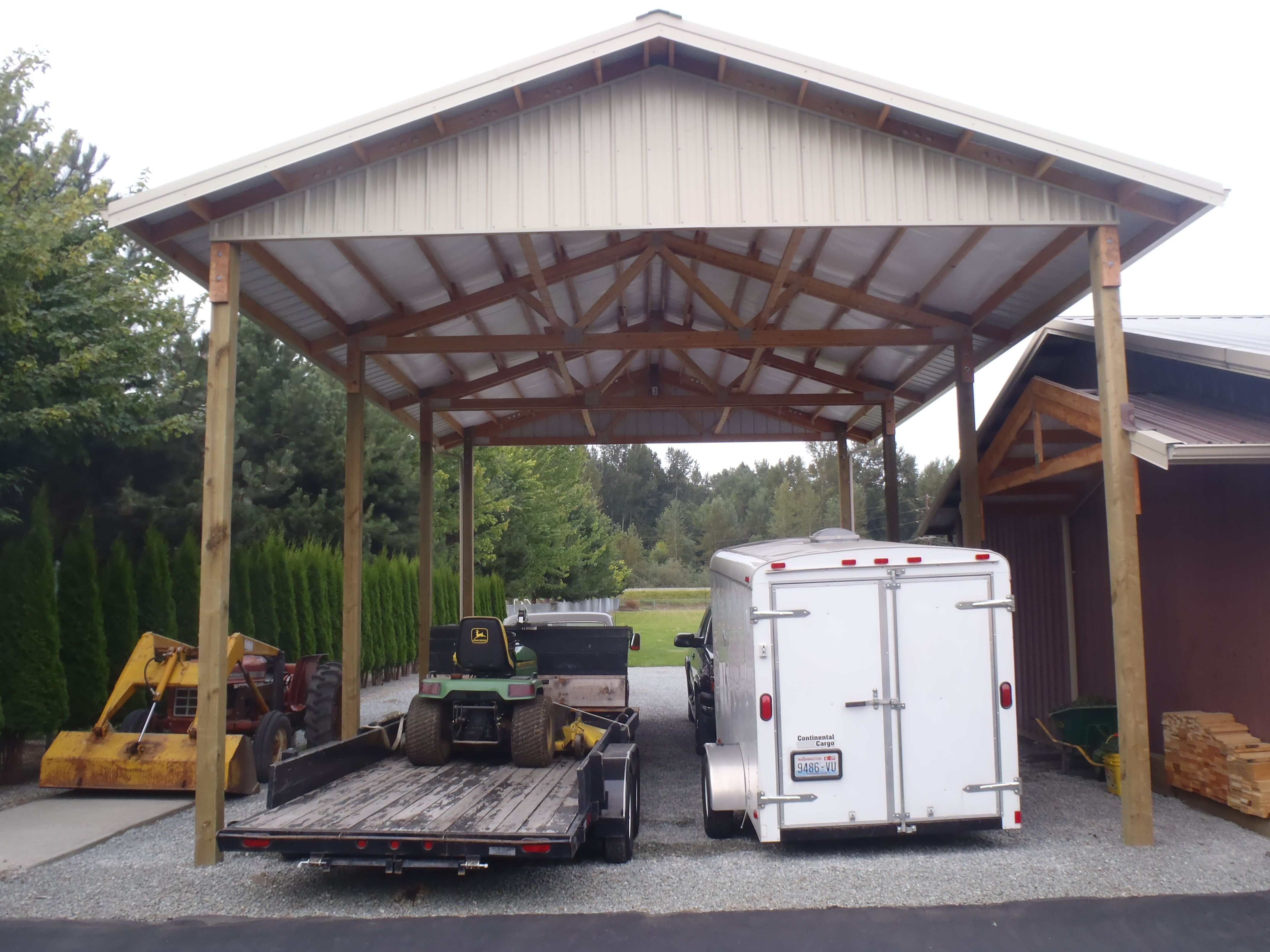 Yes We Build Basic Rv Shelters Schedule Your Free