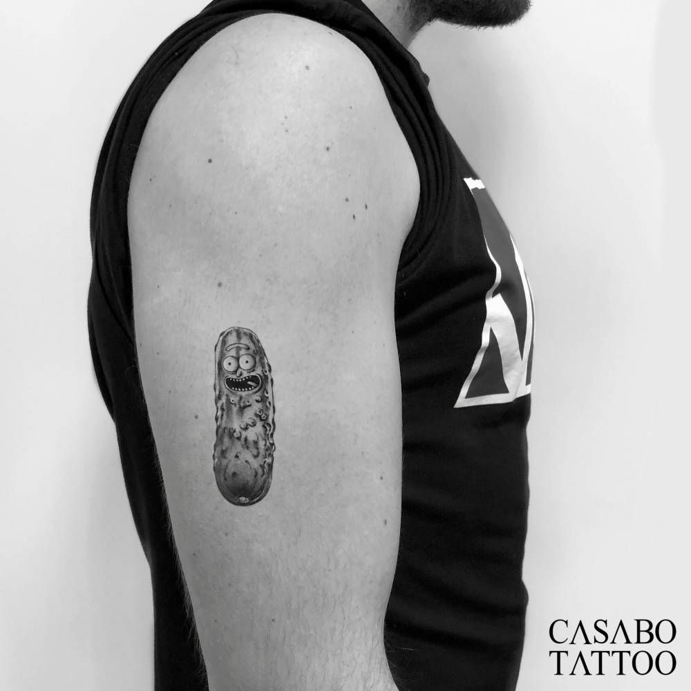 Pin On Cartoon Tattoos
