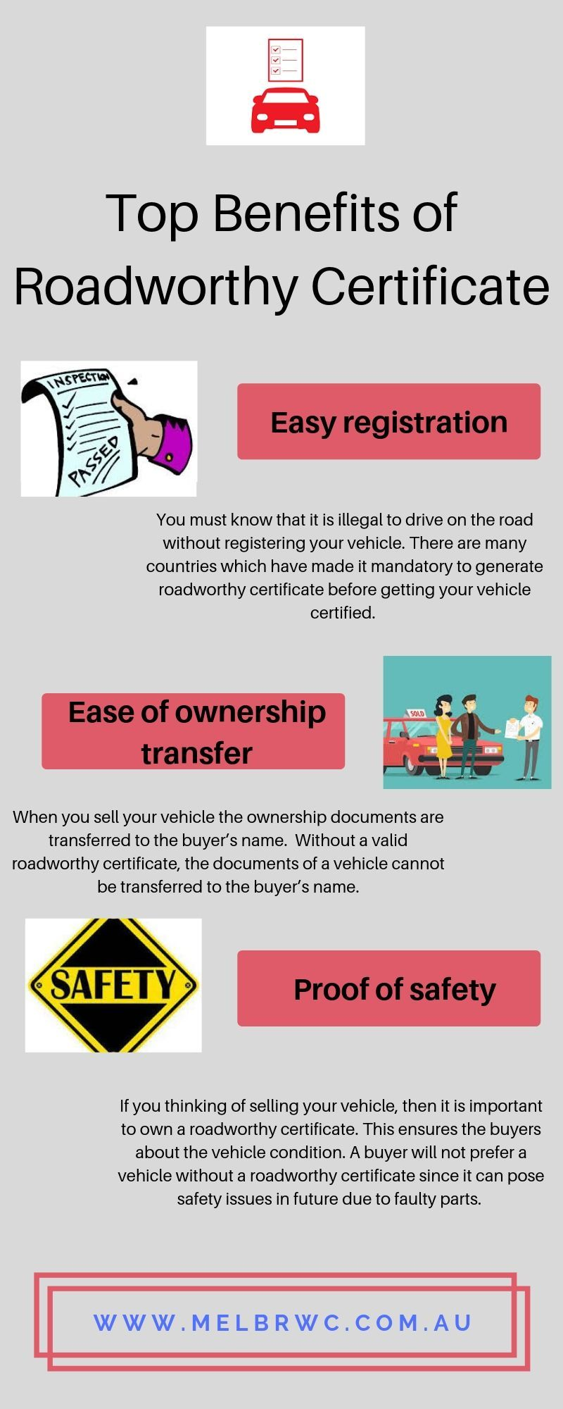 Read this infographic to know Benefits of Roadworthy ...
