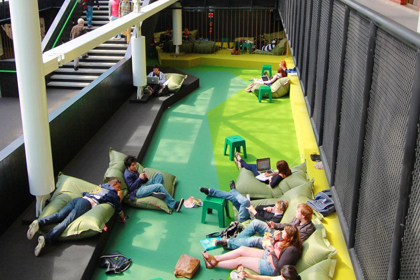 Hassell the university of adelaide learning hub - Interior design students for hire ...