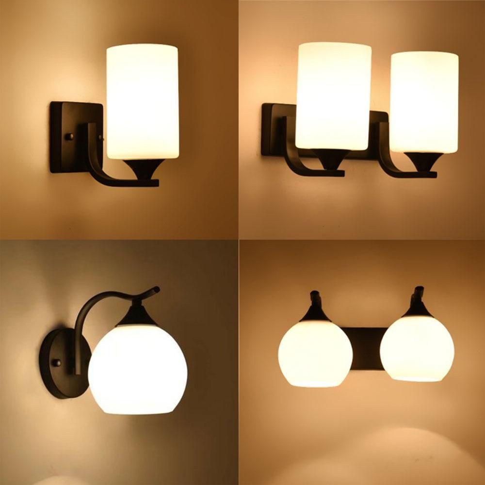 Vintage Wall Light Luminaria Bedside Reading Lamp Led E9 Bulb