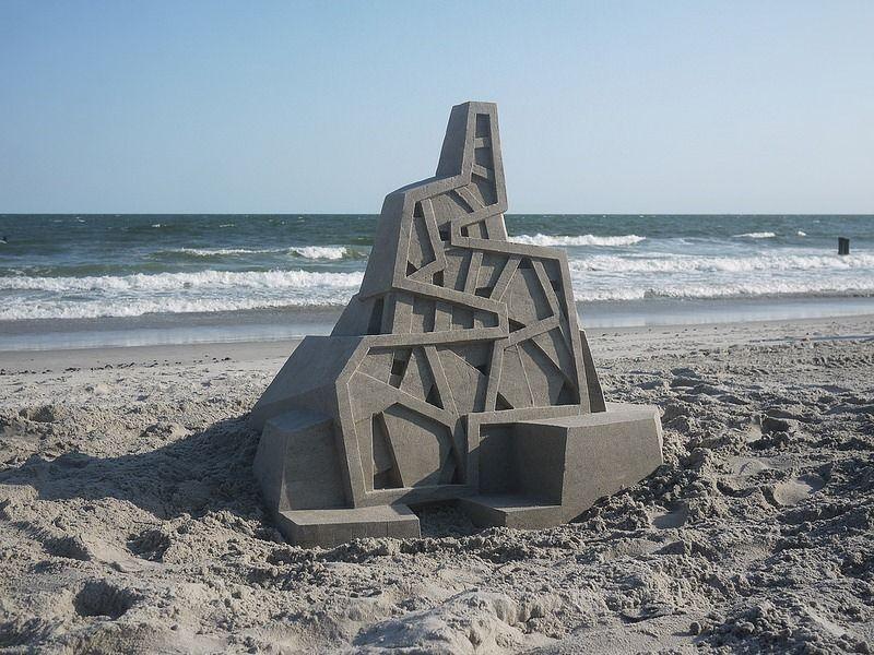 Calvin Seibert, Sand Art, New York City, USA