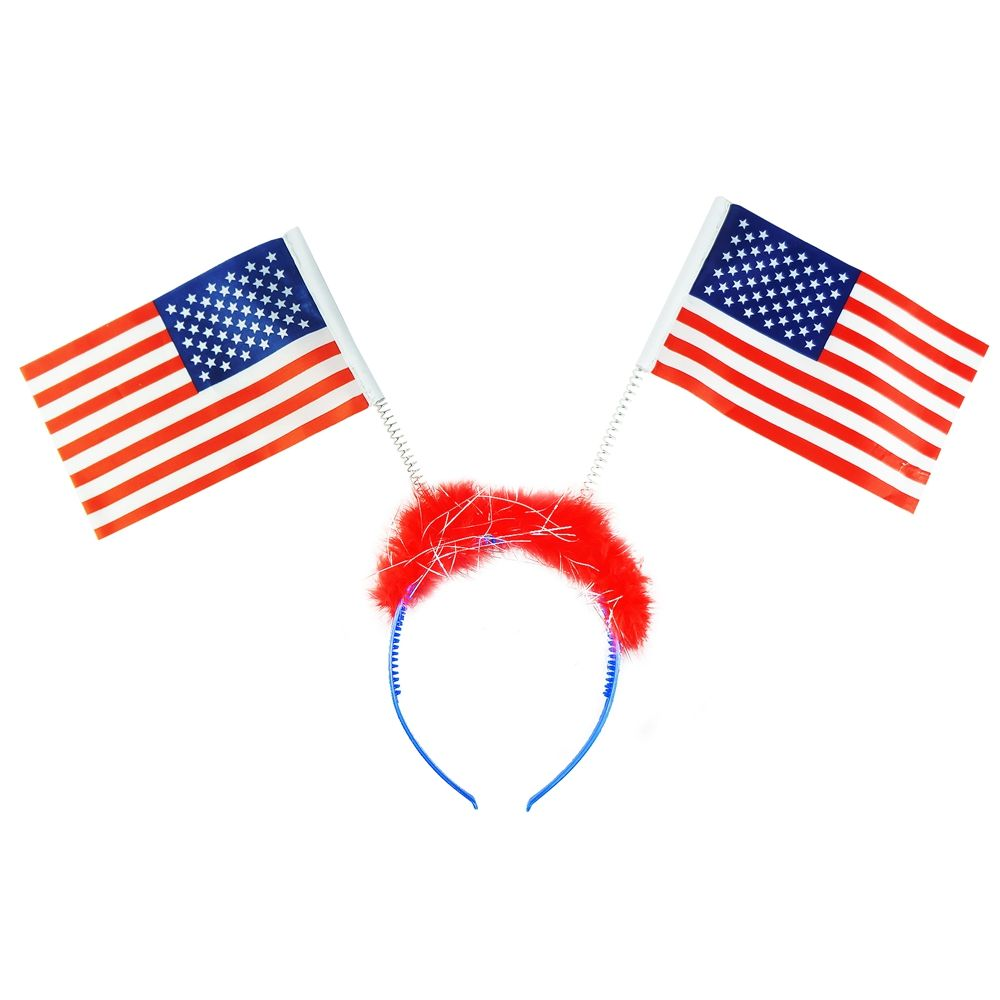 4th july flag headband,patriotic festival party supplies