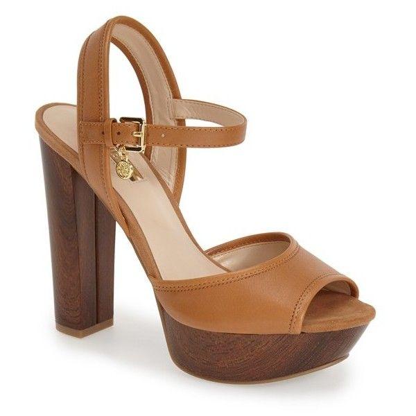 GUESS 'Pursey' Quarter Strap Sandal, 4