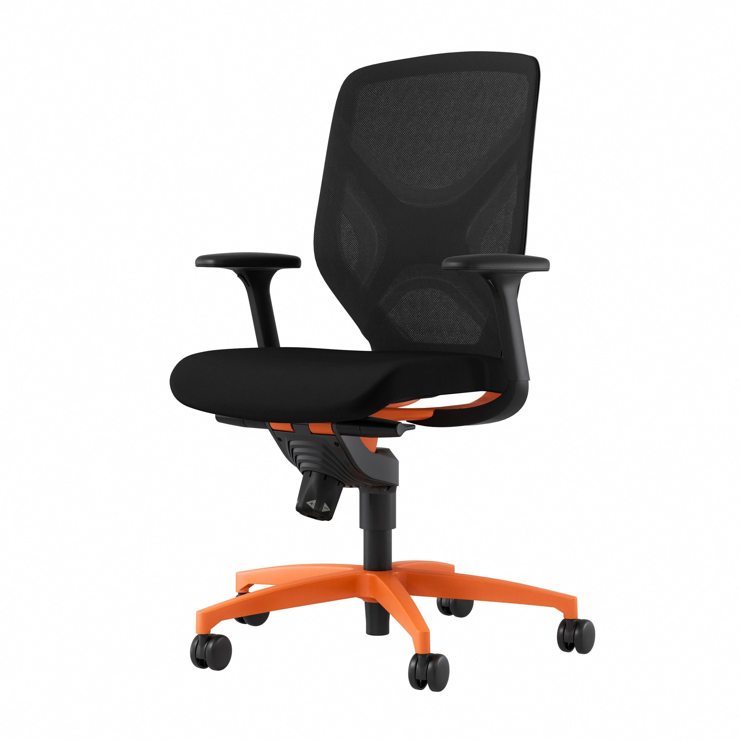 Conference Chair Commercial Furniture Office Furniture Leather Chassis Ergonomic Chair Swivel Chair Minimalist Modern Office Furniture