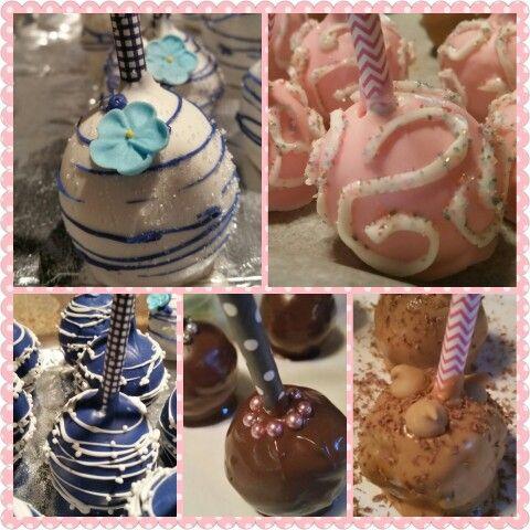 Cake popping!