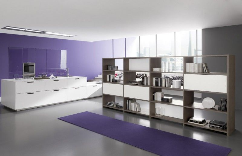 Custom fitted kitchen LINEA Young Young Collection by Comprex | design MARCONATO